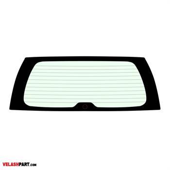 شیشه عقب خودرو پرادو 2008 سوراخ دار