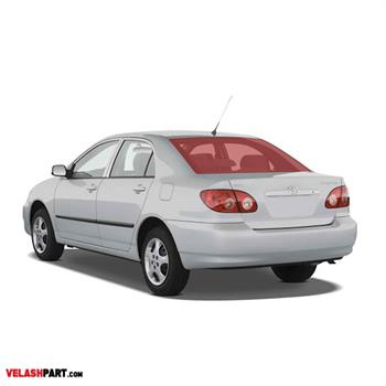 شیشه عقب خودرو تویوتا کرولا 2008 اصلی